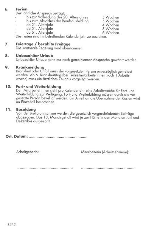 installiert haben nachfolgend eine kleine vorschaugrafik eines muster arbeitsvertrages anstellungsvertrages fr das personal von kindertagessttten - Arbeitsvertrage Muster